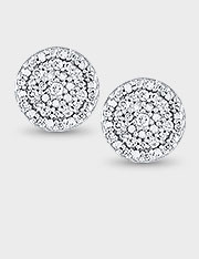 diamond earrings diamond halo mtsihcr