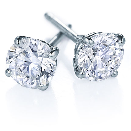 diamond earrings quick view. ddhvfwh