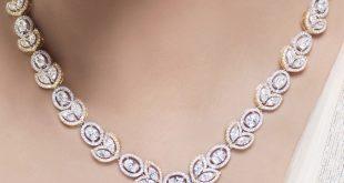 diamond necklace for women luxury jewelry | luxury women diamonds necklace great for bridal jewelry syfbiuz
