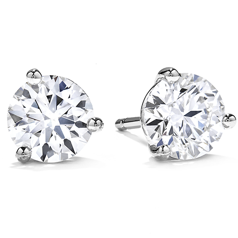 diamond stud earrings three prong stud earrings xybczxb