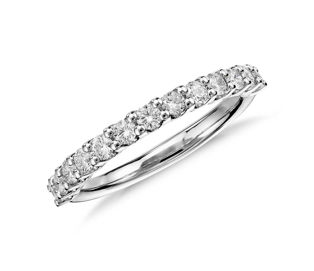diamond wedding rings luna diamond wedding ring in platinum (1/2 ct. tw.) jeqyuub