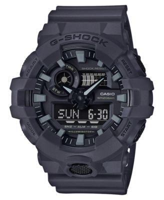 digital watches for men g-shock menu0027s analog-digital dark grey resin strap watch 53mm ospgpco