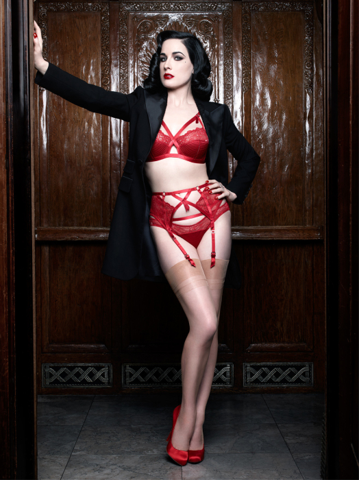 Which dita von teese lingerie should one go for?