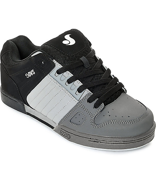 dvs shoes dvs celsius black, charcoal u0026 grey skate shoes cszfjns