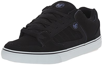 dvs shoes dvs menu0027s militia ct action sports skateboarding, black/grey/blue nubuck,  7.5 djqolno