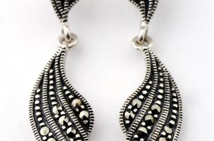 earing jewelry sterling silver 925 marcasite jewelry wholesaler from  thailand http://www. zklgdwc