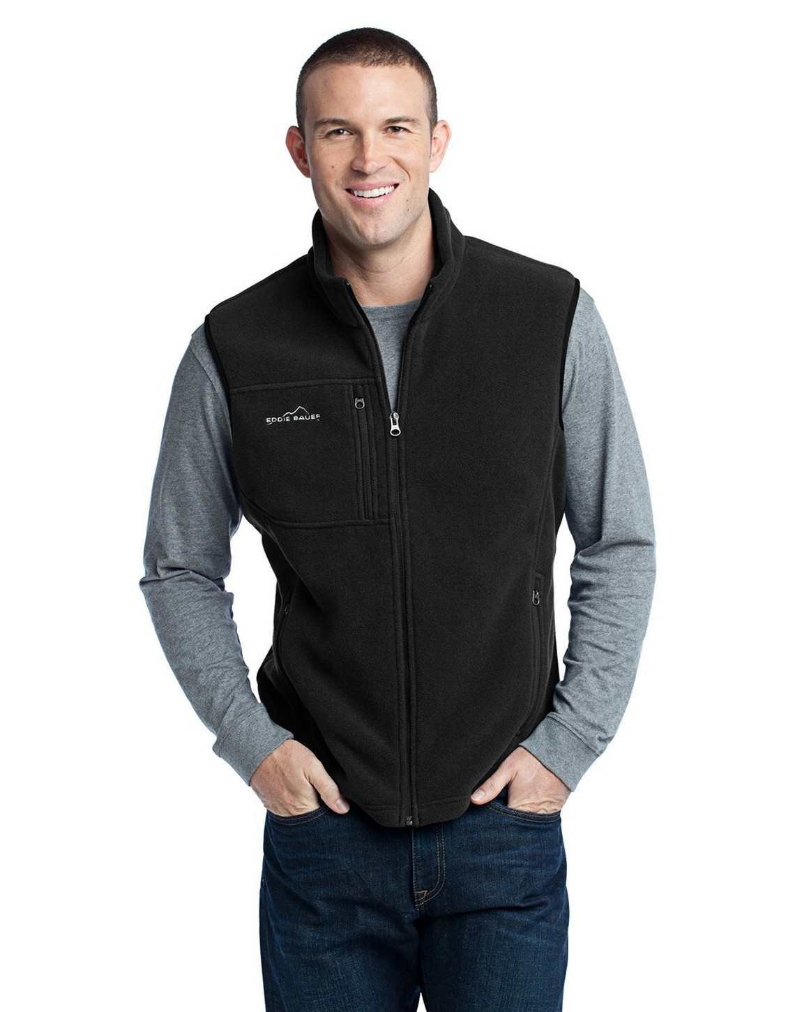 Features to checkout in a fleece vest