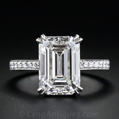 emerald cut i adore what is a called and east west setting (where you see the diamond sgcdirm