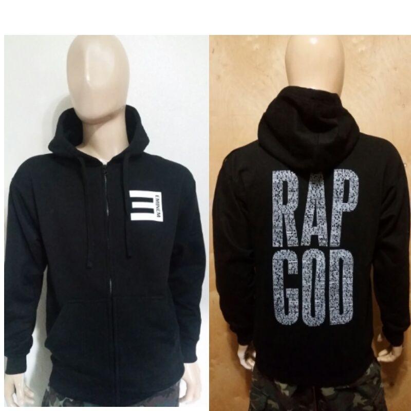 eminem hoodie eminem rap god black zipper zip up pullover hoodie slim shady rap god spwochi