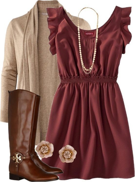 fall dresses fall is coming. need to add some pants to this outfit since that looks to cudykgm