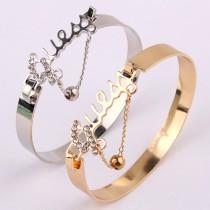 fashion bracelets fashion rhinestone-encrusted love bracelet bawrrau