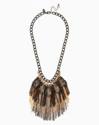 fashion necklaces empressa chain fringe necklace ... veymwog