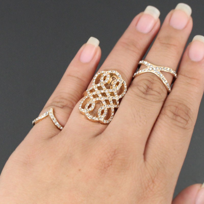 fashion rings gold kgtotru