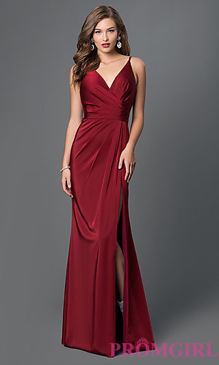faviana v-neck open back long dress-promgirl vccalzb