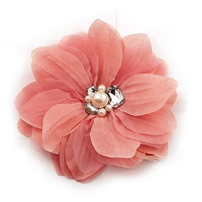 flower brooch cofxium