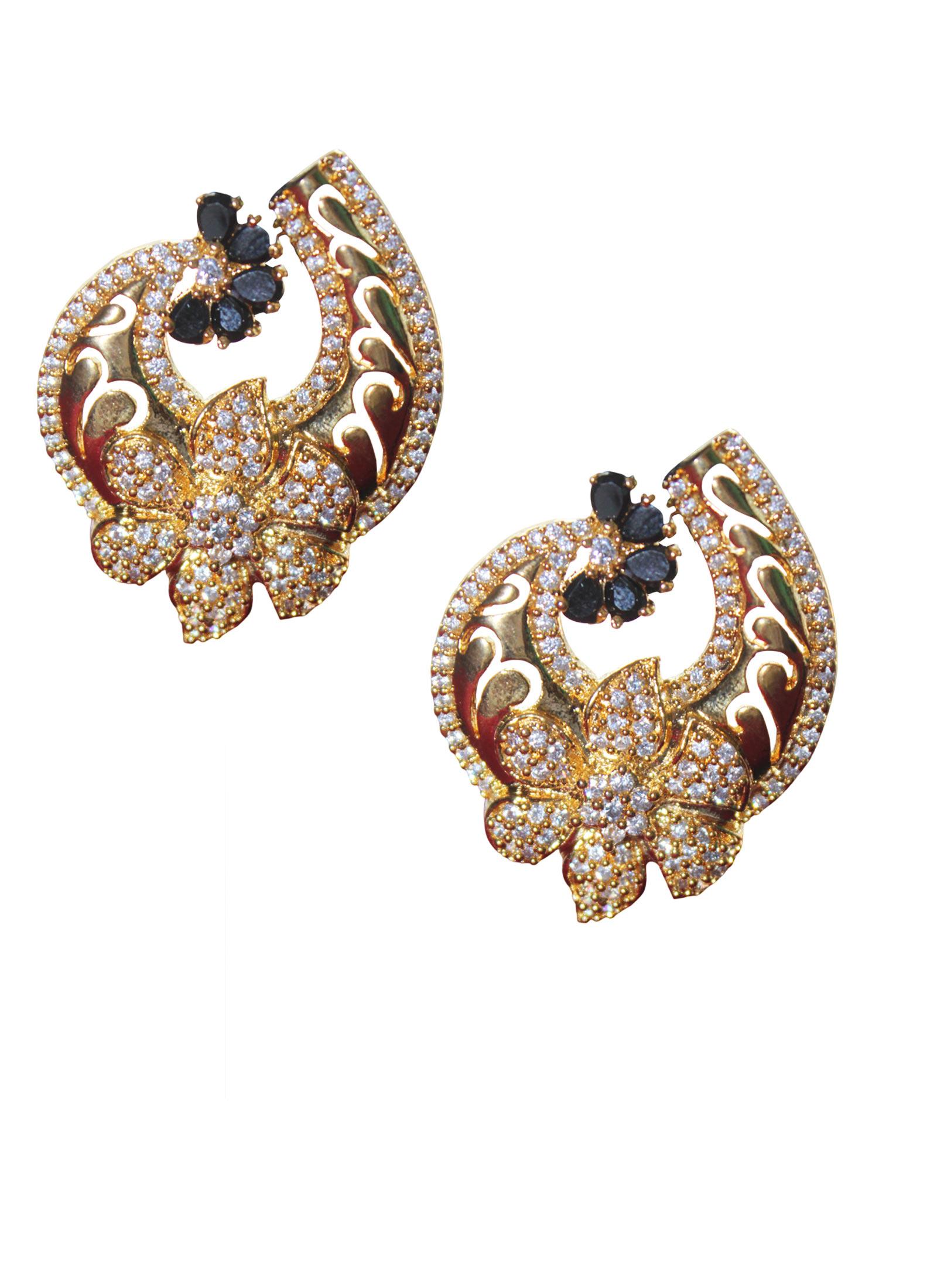 flower designer earrings zmdycav