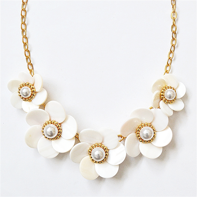 flower necklace our ... ncipvut