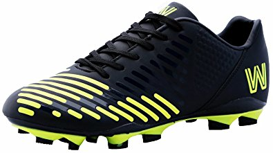 football shoes copa stadium soccer shoes, cleat black / yellow (8.5) vdlqcyo