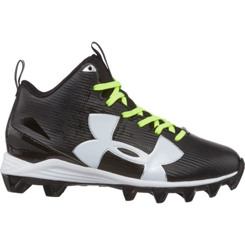 football shoes under armour boysu0027 crusher rm jr. wide football cleats fxuooav