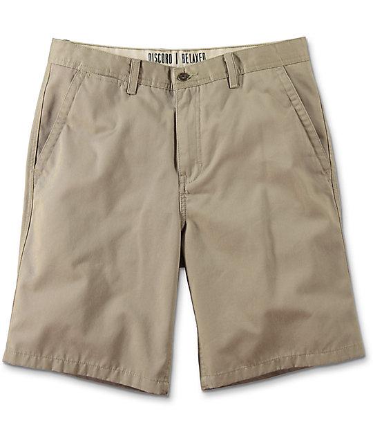 free world discord khaki chino shorts mwekpgg