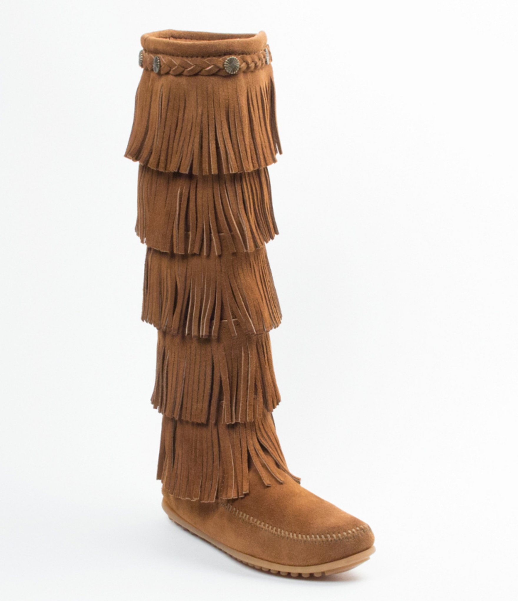 The right dressing to have with the fringe boots