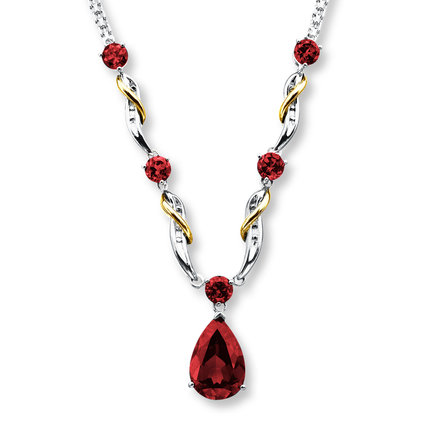 garnet jewelry hover to zoom oakbide