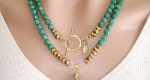 gemstone necklaces ashira russian amazonite gemstone necklace with gf toggle and natural druzy  geode green white dyfagau