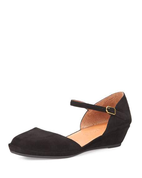 gentle souls shoes gentle soulsnoa star demi-wedge ballerina flat, black xoafyai