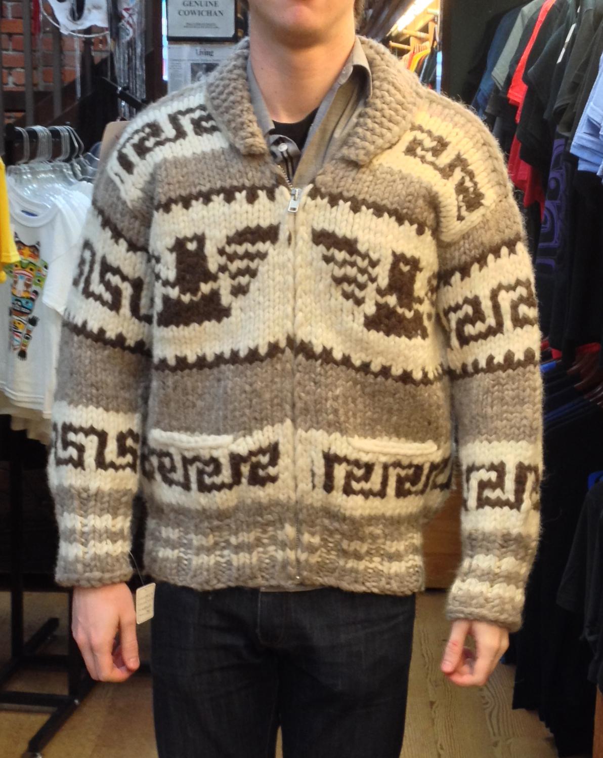 genuine handmade cowichan sweater djyzsmv