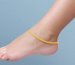 gold anklet - ja728w7dbf qbwjmex
