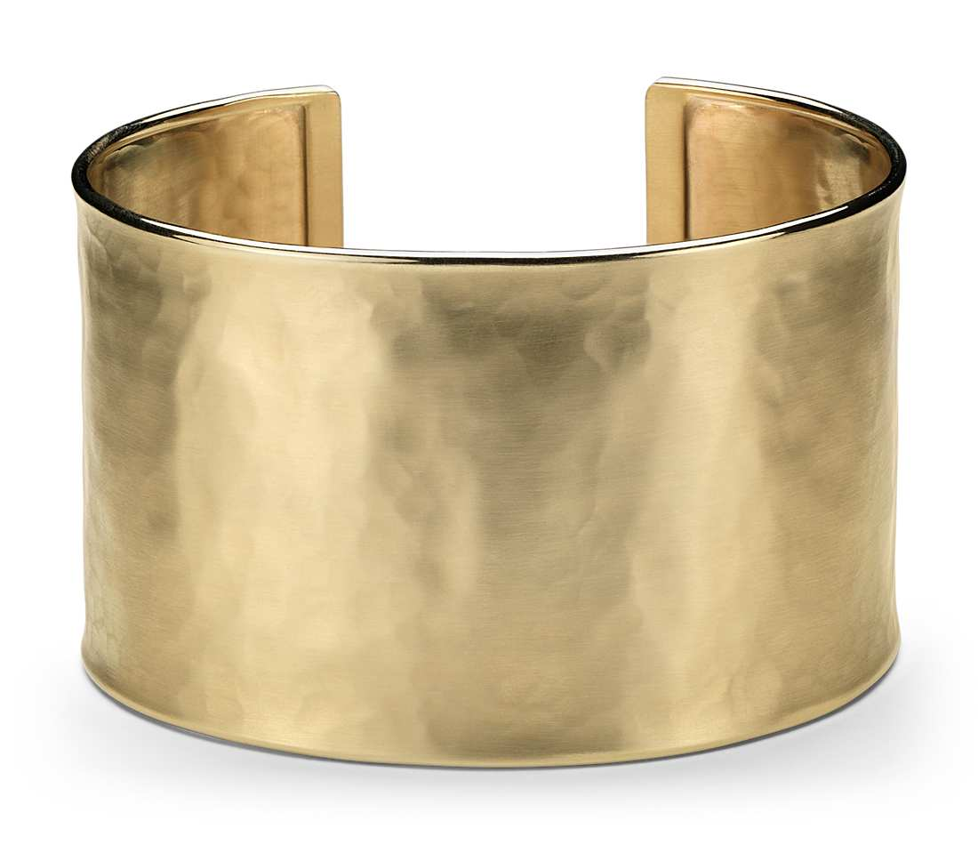 gold cuff bracelet wide hammered cuff bracelet in 14k yellow gold ravvqqa