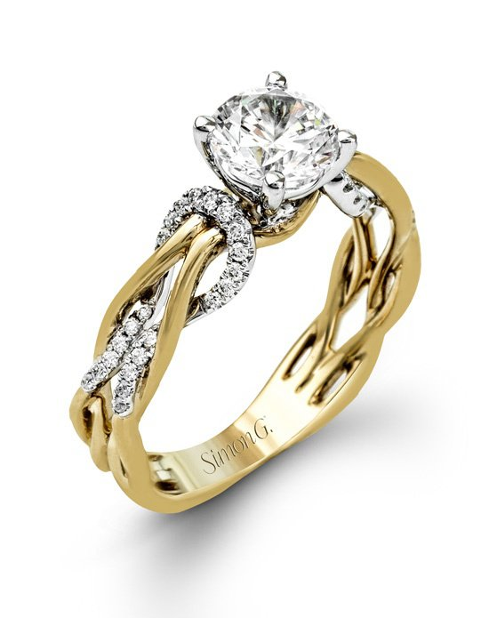 gold engagement rings simon g. jewelry jhhstng