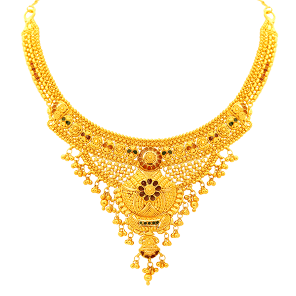 gold jewellery kolkata necklace collections, buy kolkata necklace online, indian kolkata  necklace, kiran kumar lalithaa jewellery fvhpdeo