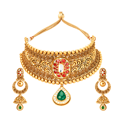 gold jewellery necklaceglass kundan ptvyiwy