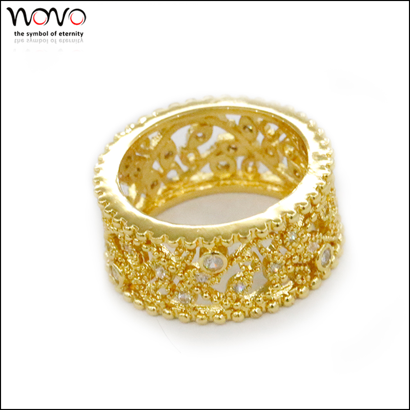 Unusual Gold Ring Design for couple StyleSkier