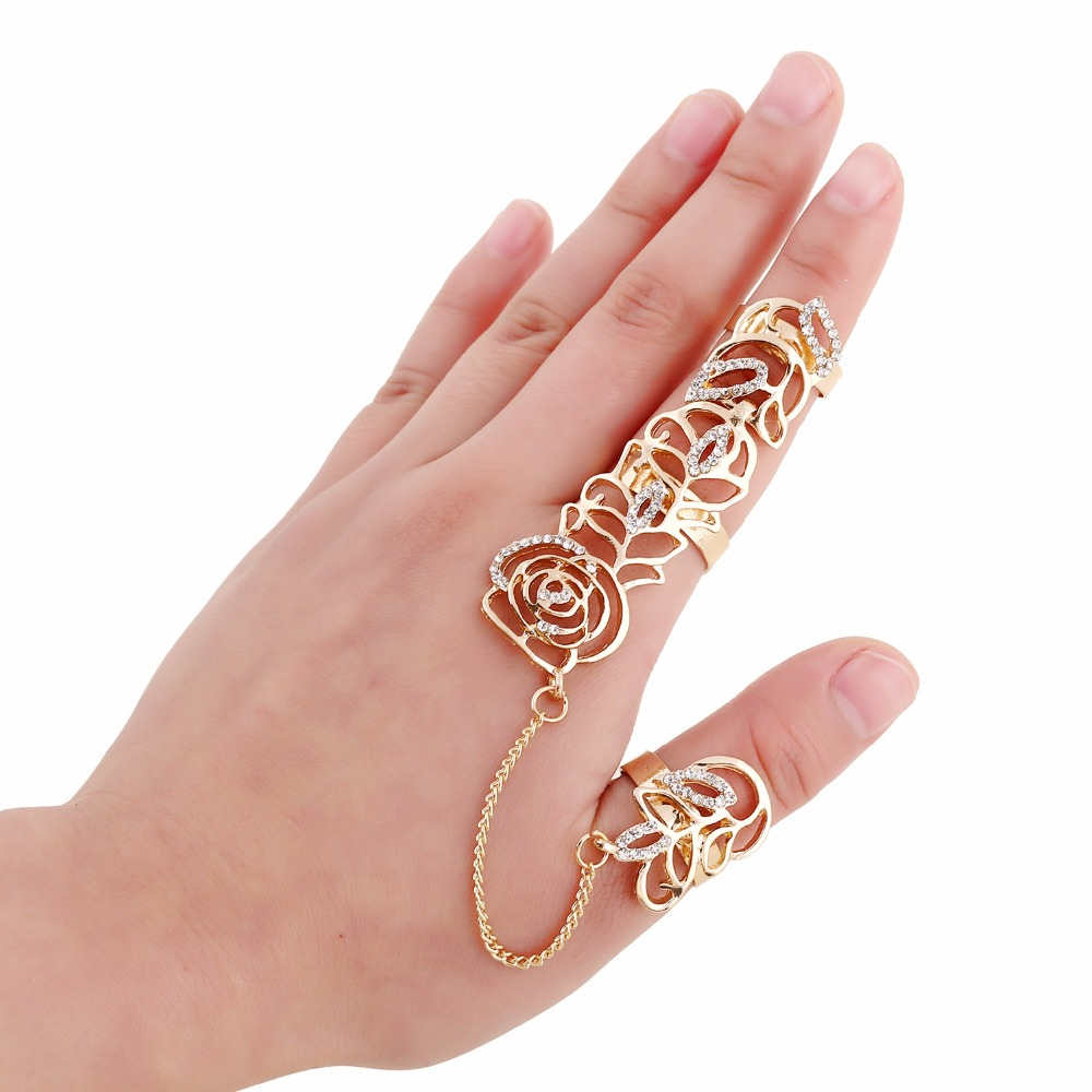 gold rings for women aliexpress.com : buy fashion gold rings women anillos austrian crystal gold  color party finger afonelc