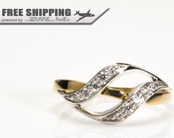 gold rings for women | etsy xvkeilv