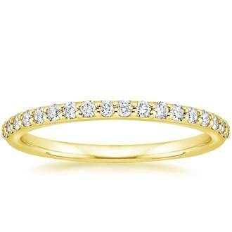 gold wedding bands 18k yellow gold vnkuocb