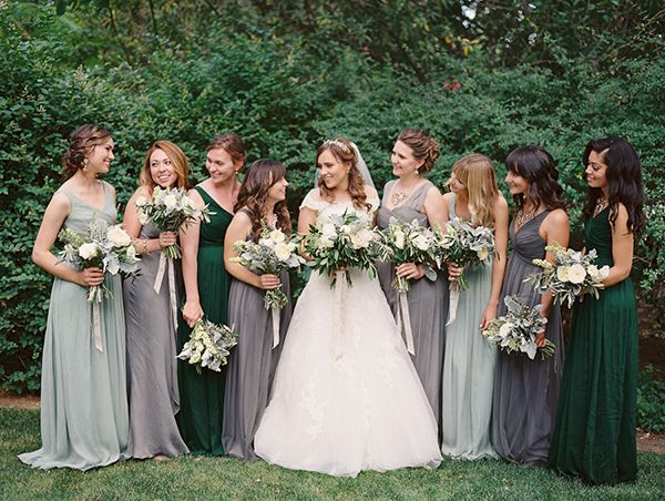 green bridesmaid dresses emily u0026 mike | spring wedding at the inn at park winters | snippet u0026 spvpnpo