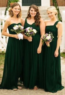 green bridesmaid dresses iu0027d love an even darker version of this coloru2026 but this is the closest iu0027ve nbaadjz