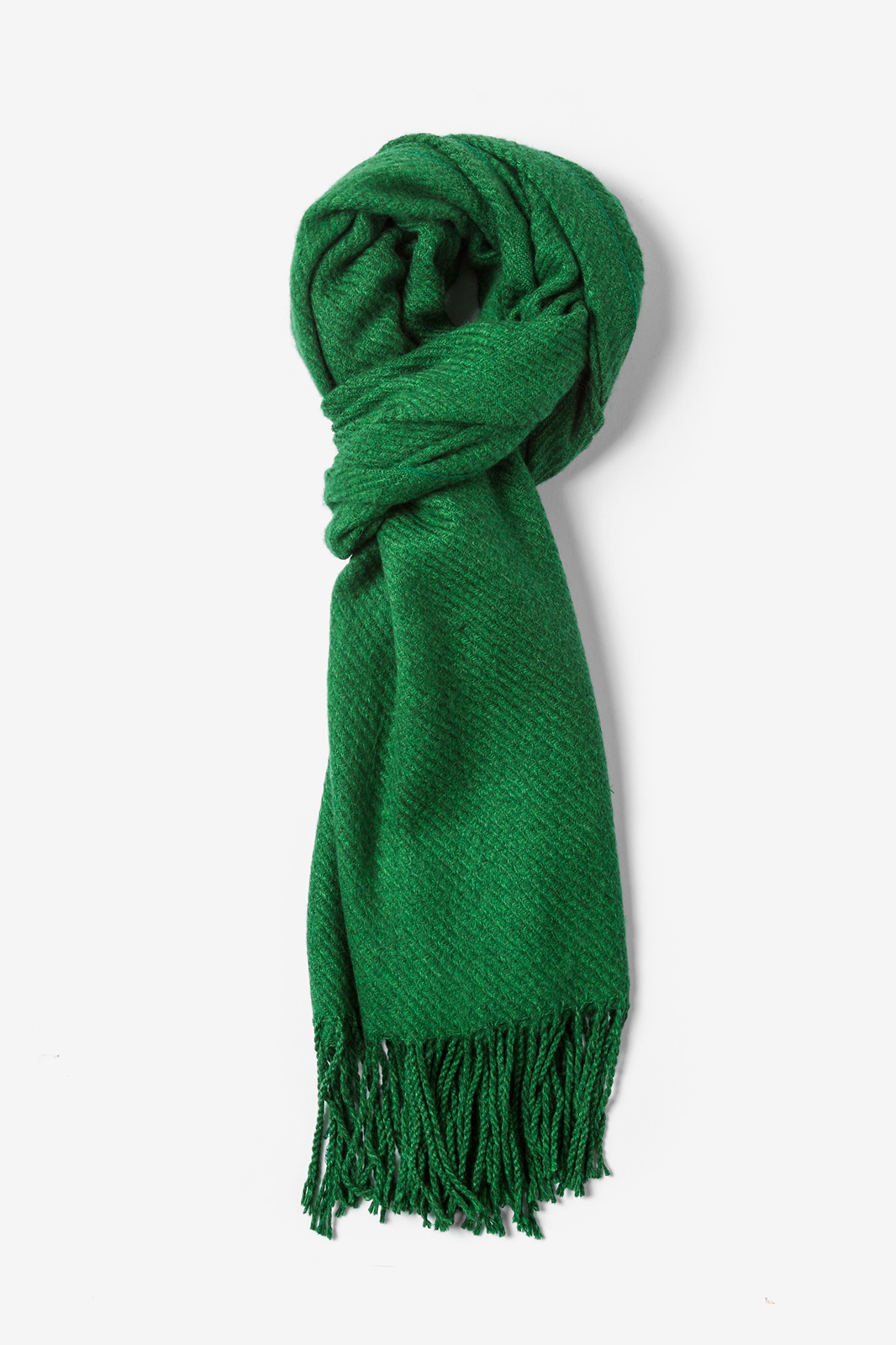 green scarf green calgary fringed scarf by scarves.com ydpzhlr