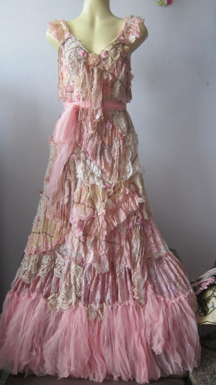 gypsy dresses reserved..she has stories to tell...vintage inspired shabby bohemian gypsy  dress vxalaet