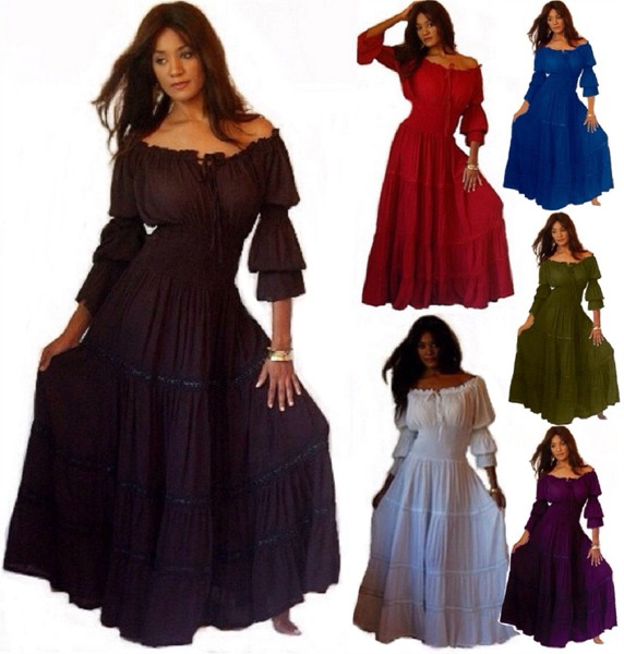 gypsy dresses ruffle sleeve mexican peasant gypsy dress with skirt trim fgabfnr