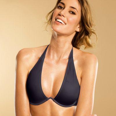 halter neck bra demi / half-cup bras, halter-neck and novelty bras | glamcheck pkjpvfn