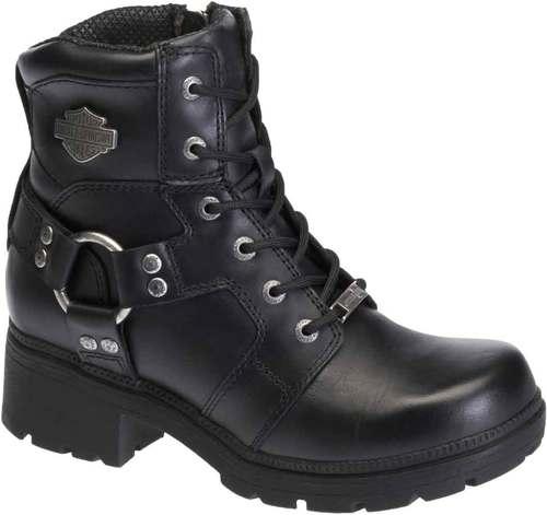 harley davidson boots for women harley-davidson® womenu0027s jocelyn 5.5-in black leather motorcycle boots.  d83775 vvlduyr