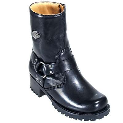 harley davidson boots for women harley davidson boots: womenu0027s leather motorcycle boots 84187 oyznuxh