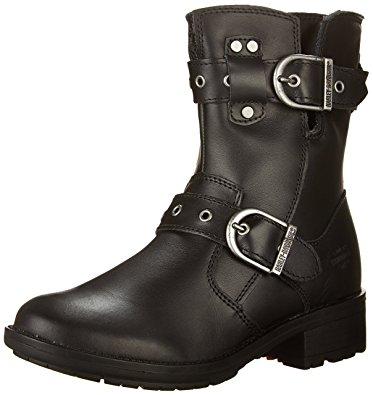 harley davidson boots for women harley-davidson womenu0027s grace work boot, black, ... fxmghja