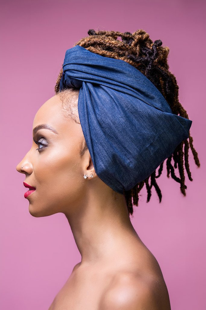 head wraps denim head wrap ... pdujgcc