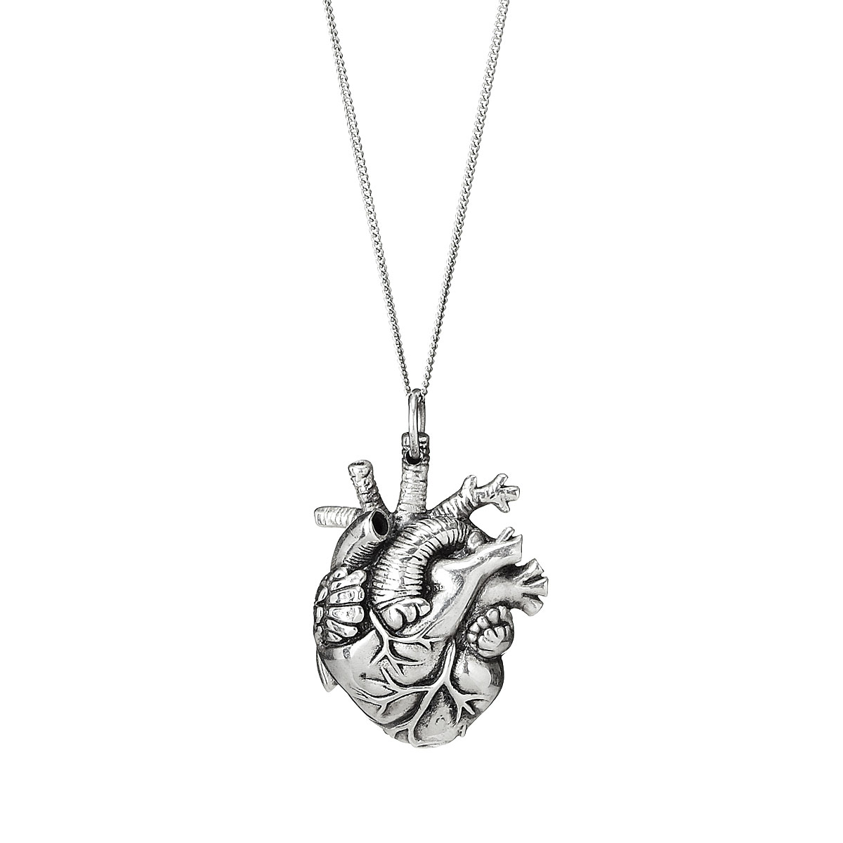 heart pendant necklace anatomical heart pendant 2 thumbnail edeljjr