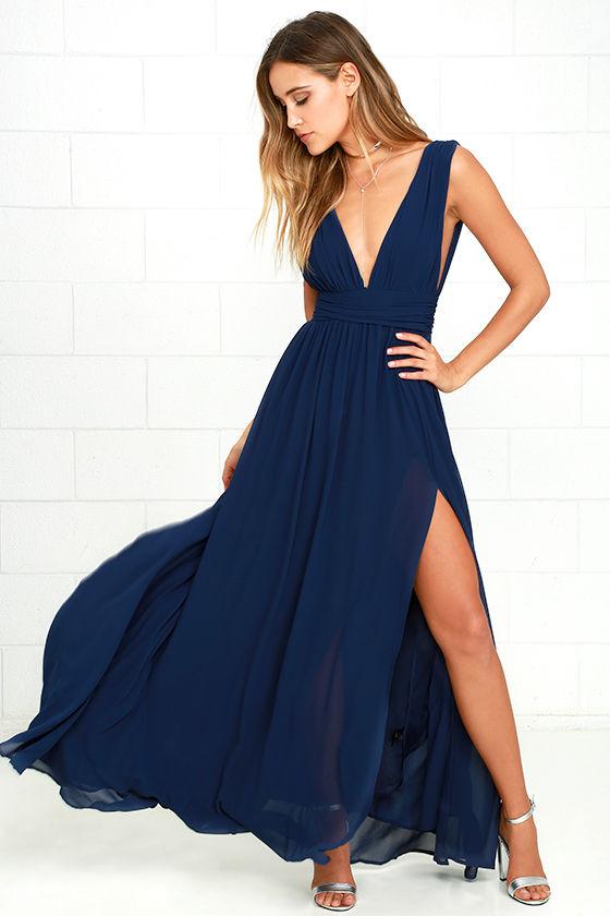 heavenly hues navy blue maxi dress 1 ygnarjr